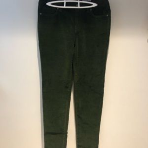 NWOT gorgeous green corduroy